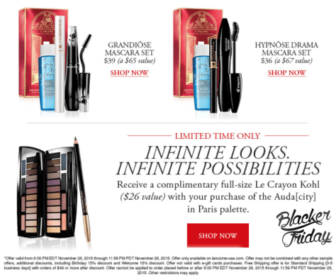 Lancome Black Friday Sale - Page 2