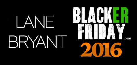 Lane Bryant Black Friday 2016