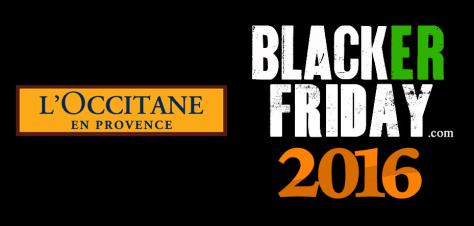 Loccitane Black Friday 2016