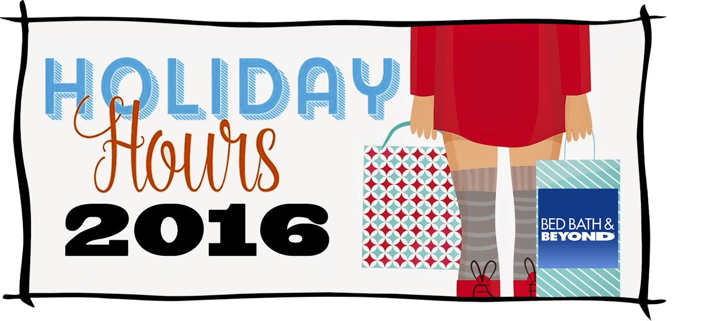 Bed Bath and Beyond Black Friday Store Hours 2016