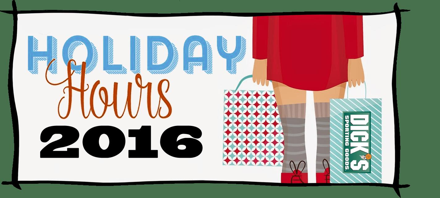 Dicks Sporting Goods Black Friday Store Hours 2016