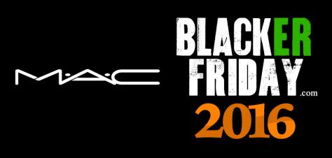 MAC Black Friday 2016