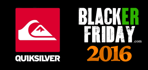 Quiksilver Black Friday 2016