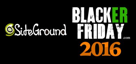 Site Ground Black Friday 2016