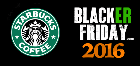 Starbucks Black Friday 2016