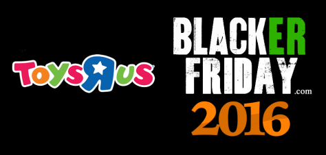 Toys r us Black Friday 2016
