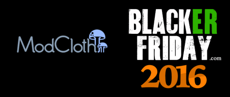 ModCloth Black Friday 2016