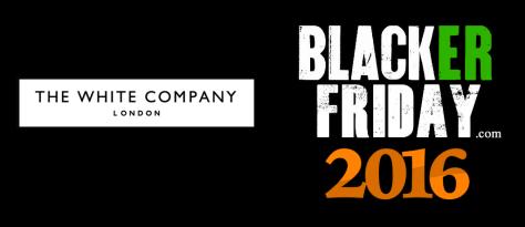The White Company Black Friday 2016