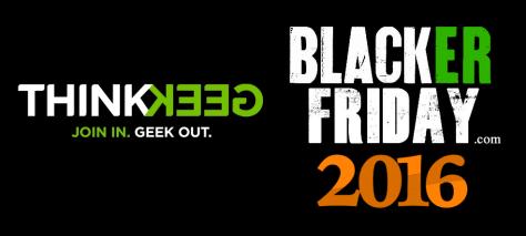 ThinkGeek Black Friday 2016