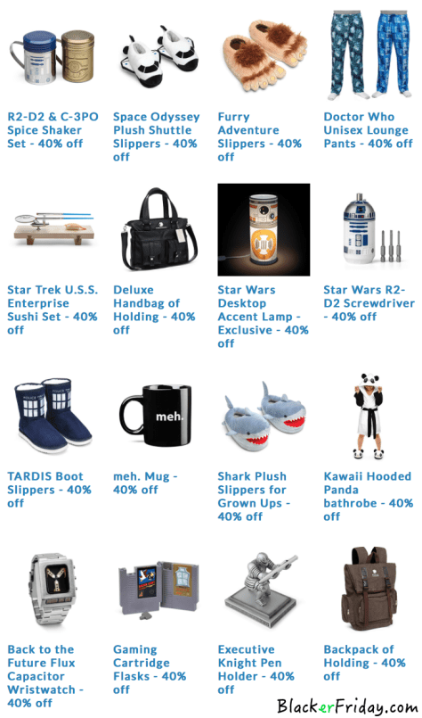 Thinkgeek Black Friday Ad - Page 2
