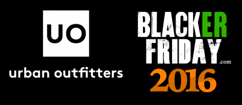 Urban Outfitters Black Friday 2016