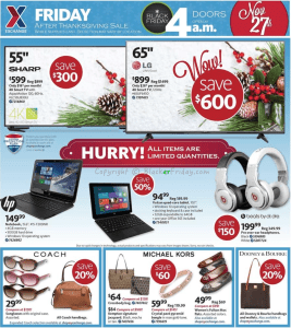 AAFES Black Friday Ad Scan - Page 1