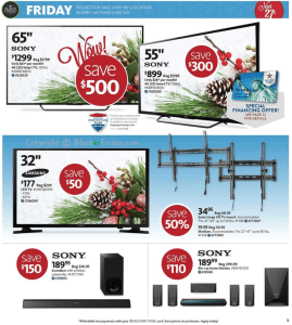 AAFES Black Friday Ad Scan - Page 3