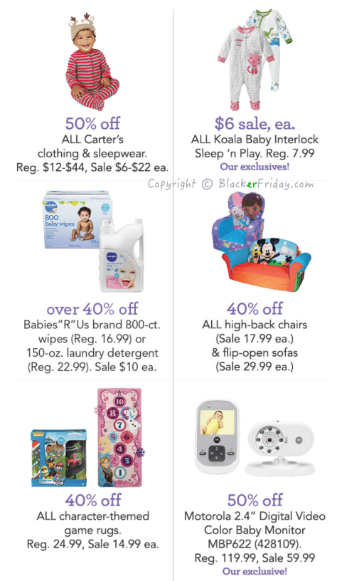 Babies R Us Black Friday Ad Scan - Page 2