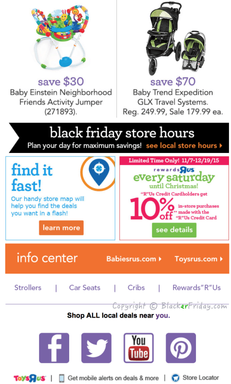 Babies R Us Black Friday Ad Scan - Page 3