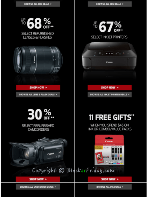 Canon Black Friday Ad Scan - Page 2
