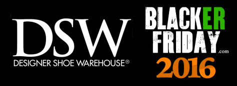 DSW Designer Shoe Warehouse Black Friday 2016