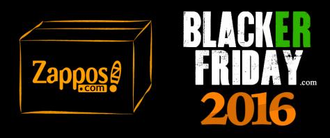 Zappos Black Friday 2016