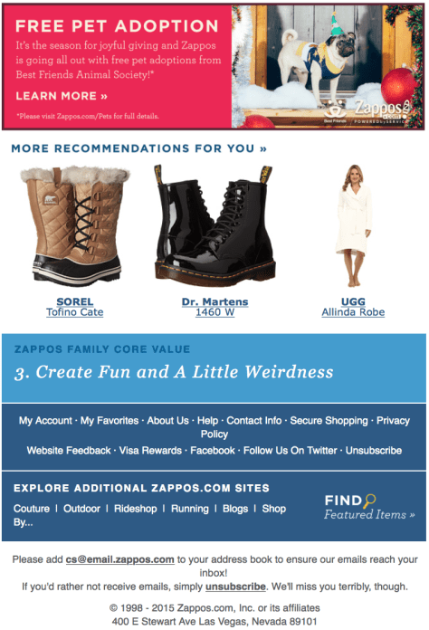 Zappos Black Friday Ad Scan - Page 3