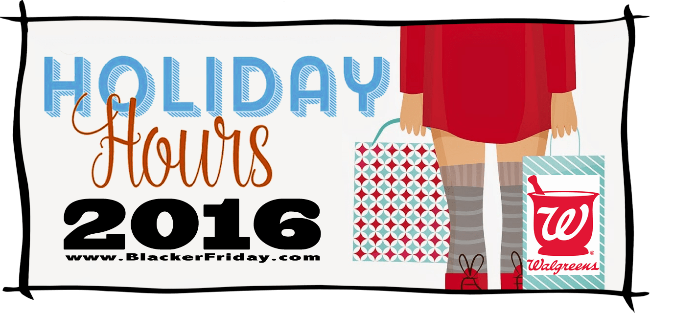 Walgreens Black Friday Store Hours 2016
