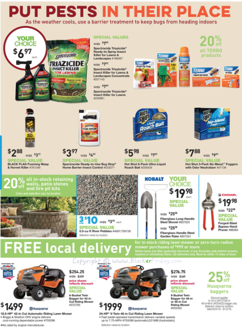 Lowes Labor Day 2016 Sale Flyer - Page 5