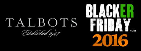 Talbots Black Friday 2016