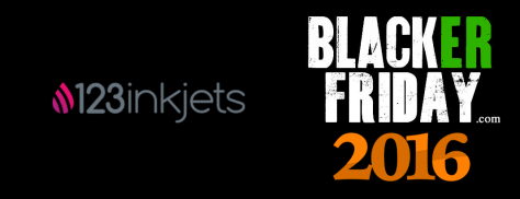 123 Inkjets Black Friday 2016