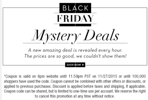6PM Black Friday Sale Ad Flyer - Page 5