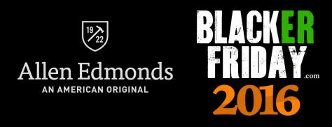 Allen Edmonds Black Friday 2016