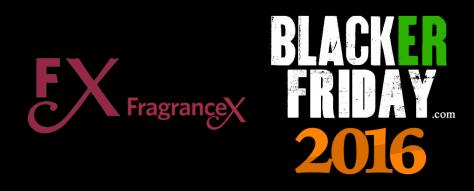 FragranceX Black Friday 2016