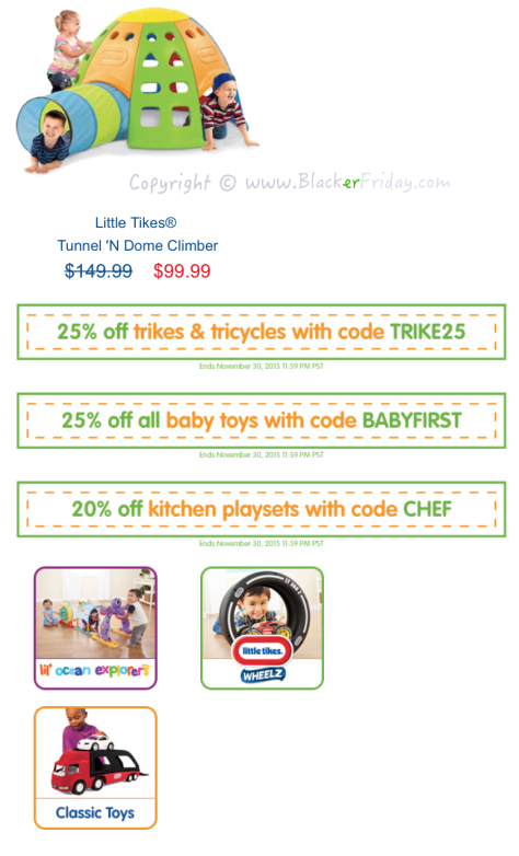 Little Tikes Black Friday Sale Flyer - Page 4