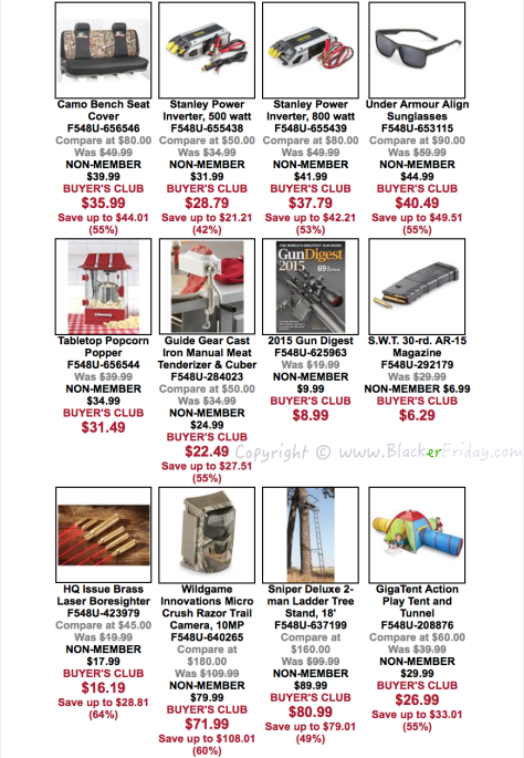 The Sportsmans Guide Black Friday Sale Flyer - Page 3