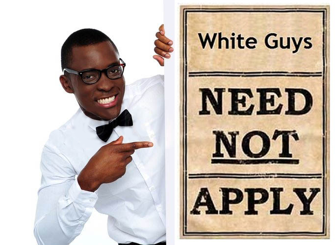 white guys need not apply