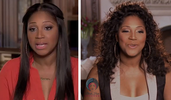 Trina's Weave/Wigs Interviews on Braxton Family Values