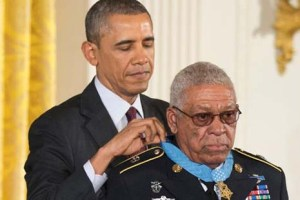 Obama Giving Black War Veteran Congressional Medal of Honor