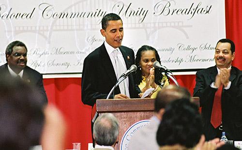 Obama Speaking in Selma, Alabama