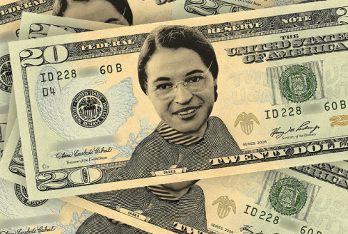 Rosa Parks on $20 Dollar Bill