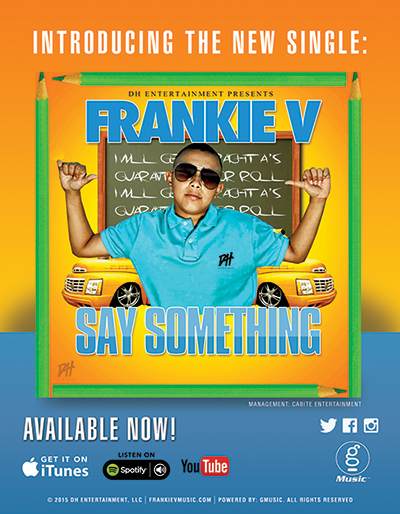 Say Something By Frankie V.