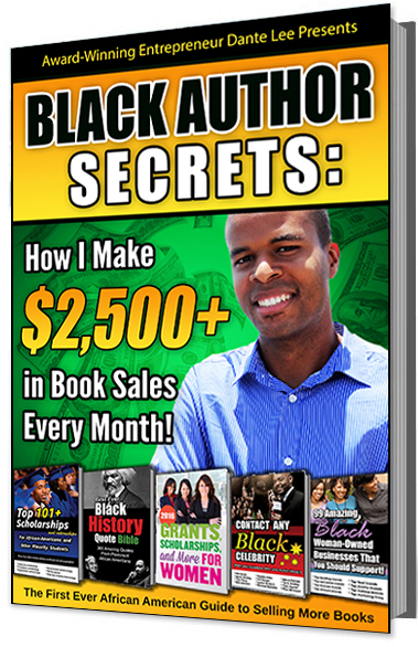 Black Author Secrets E-Book by Dante Lee