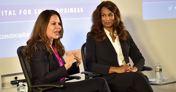 TV Producer Nely Gal and Super Model Beverly Johnson