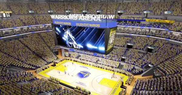 New Golden State Warriors Arena in San Francisco