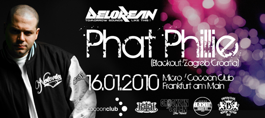 Phat Phillie at Cocoon Flyer
