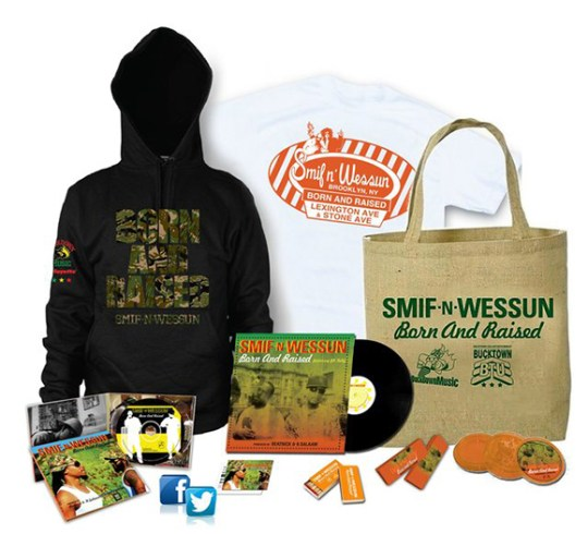 Pre-Order Smif N Wessun 'Born and Raised' Limited Edition Packages