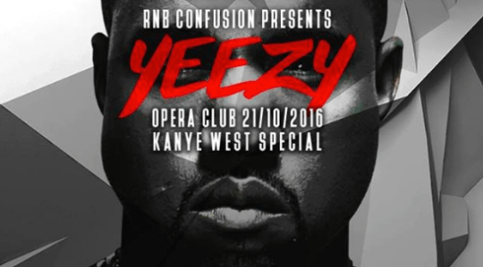 RNB Confusion: Kanye West Special @ Opera, Zagreb (21. 10.)