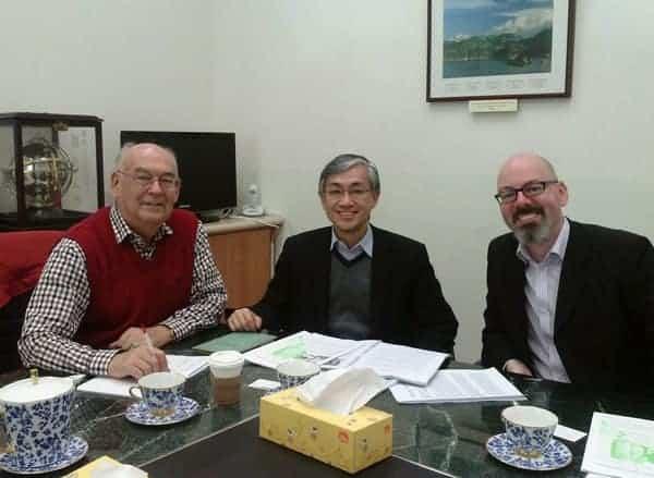 Pete Spurrier, C M Shun & Geoff Emerson