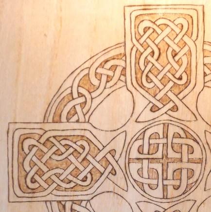 BlackSunArts Celtic Cross Document Box