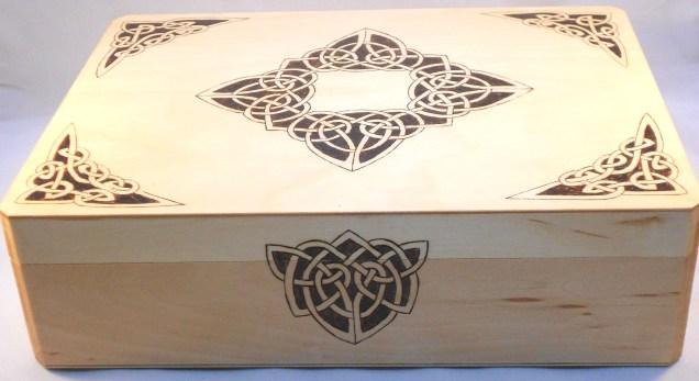 BlackSunArts Diamond Corner Box