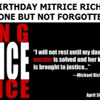 Father remembers daughter Mitrice Richardson on her 29th birthday, murder unsolved