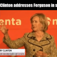 Hillary Clinton speaks on Ferguson and a racialized justice system