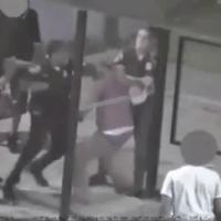 Video: Black Baltimore cop viciously beats Black man at bus stop